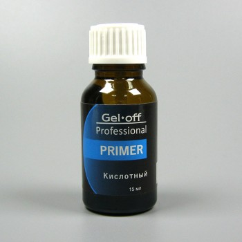 Gel-off, Праймер Кислотный Professional, 15 мл