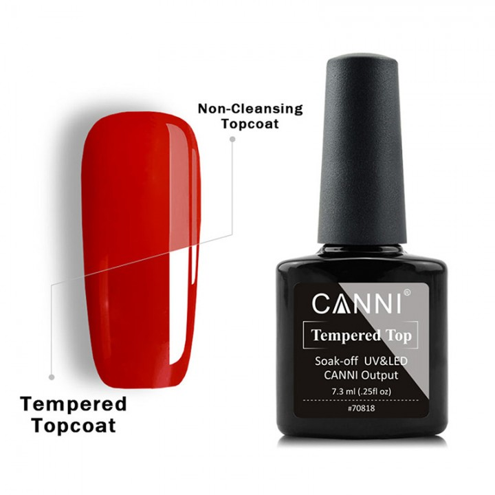 Canni, Топ Суперглянец без липкого слоя (7,3 мл.)