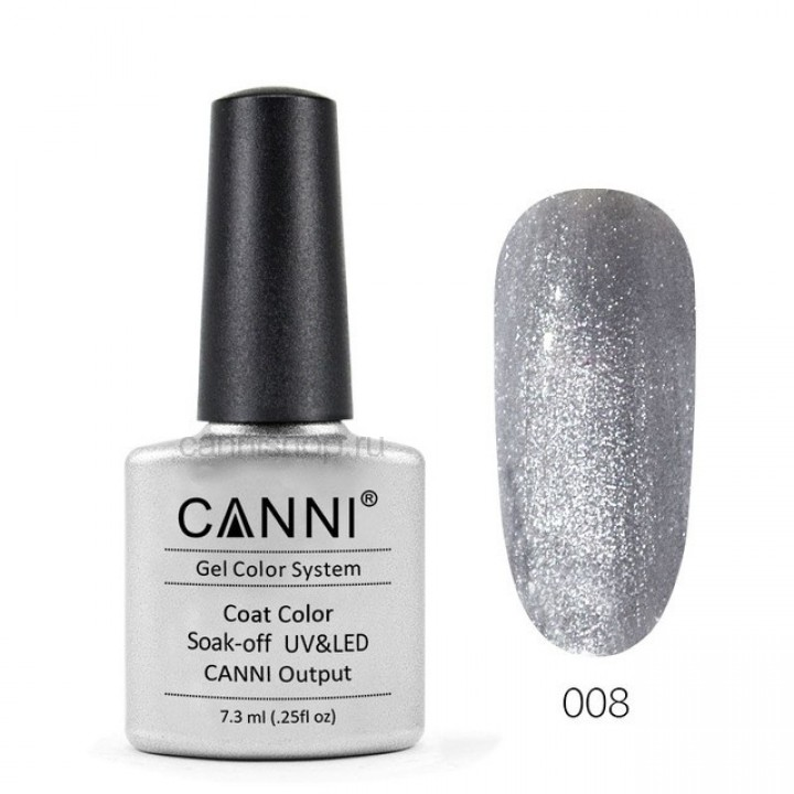 Canni, Гель-лак №008 (7,3 мл.)