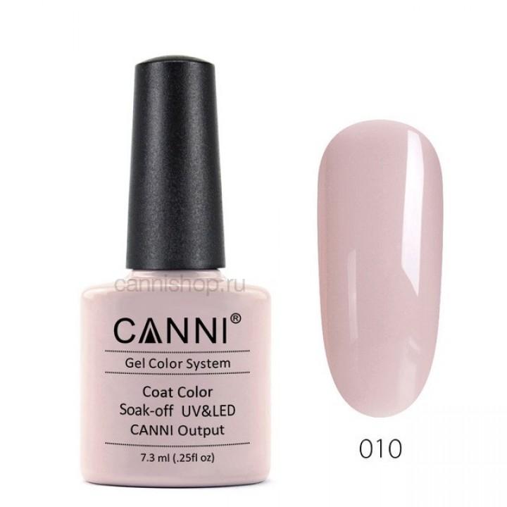 Canni, Гель-лак №010 (7,3 мл.)