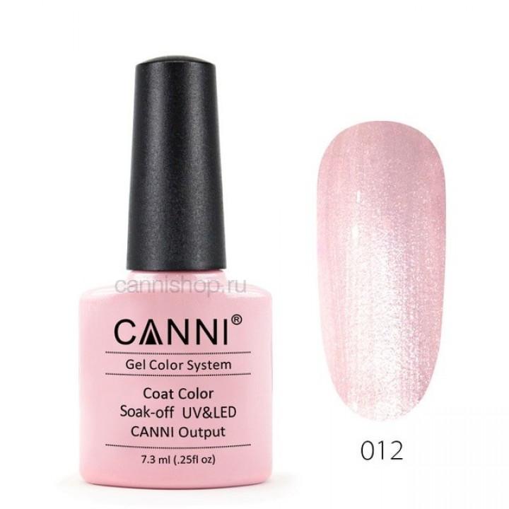 Canni, Гель-лак №012 (7,3 мл.)