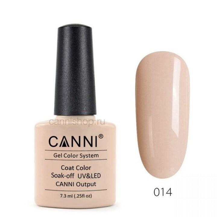 Canni, Гель-лак №014 (7,3 мл.)