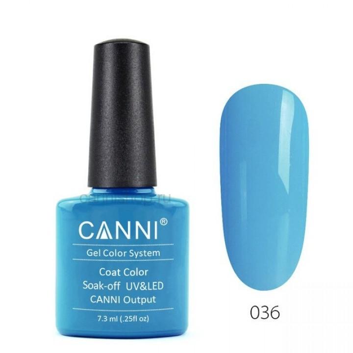 Canni, Гель-лак №036 (7,3 мл.)