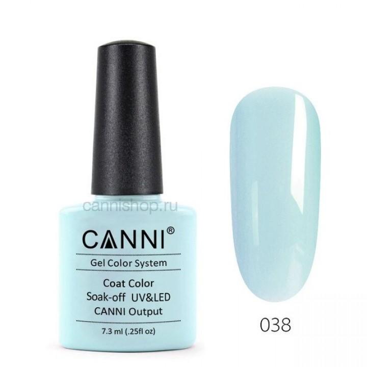 Canni, Гель-лак №038 (7,3 мл.)