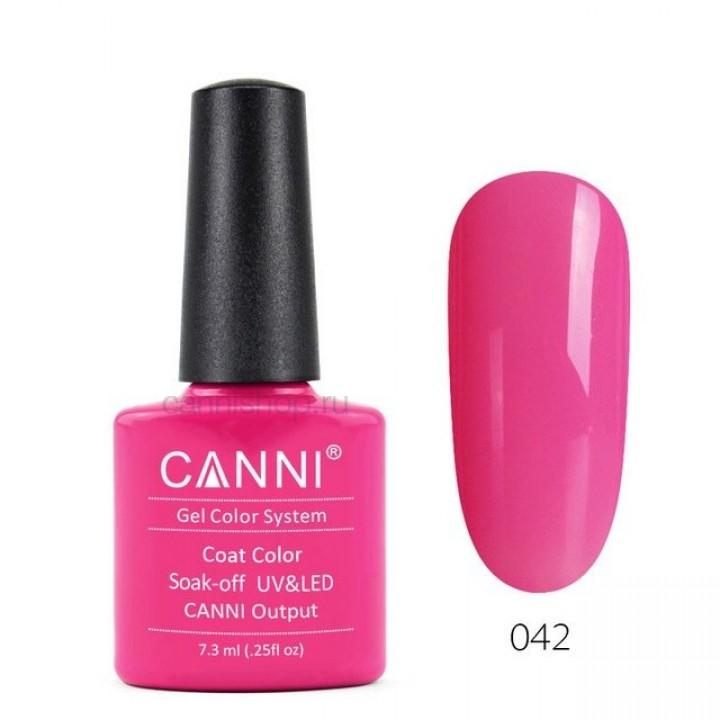 Canni, Гель-лак №042 (7,3 мл.)