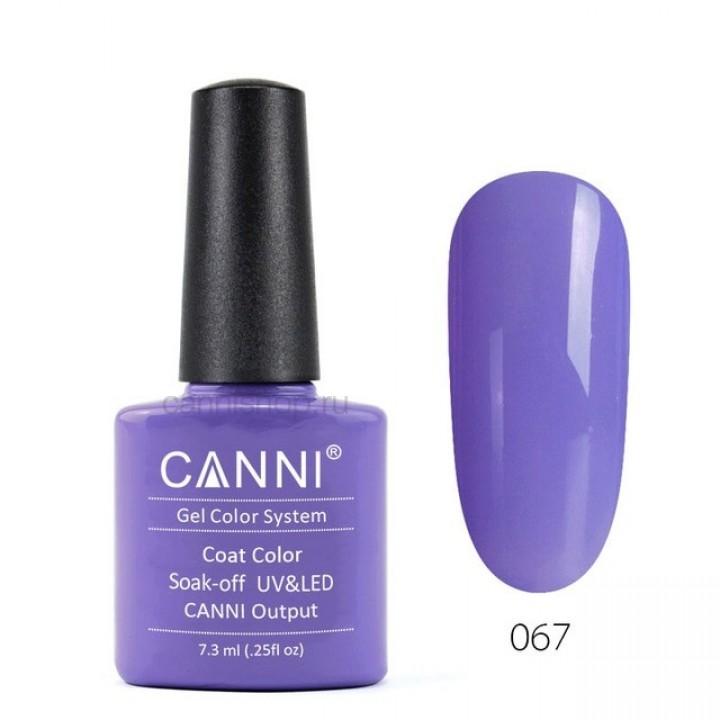Canni, Гель-лак №067 (7,3 мл.)