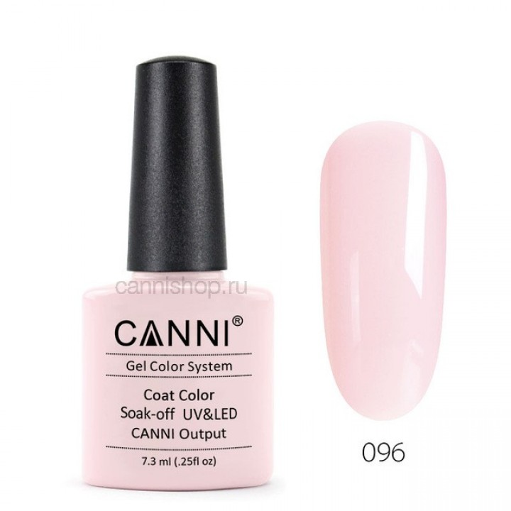 Canni, Гель-лак №096 (7,3 мл.)