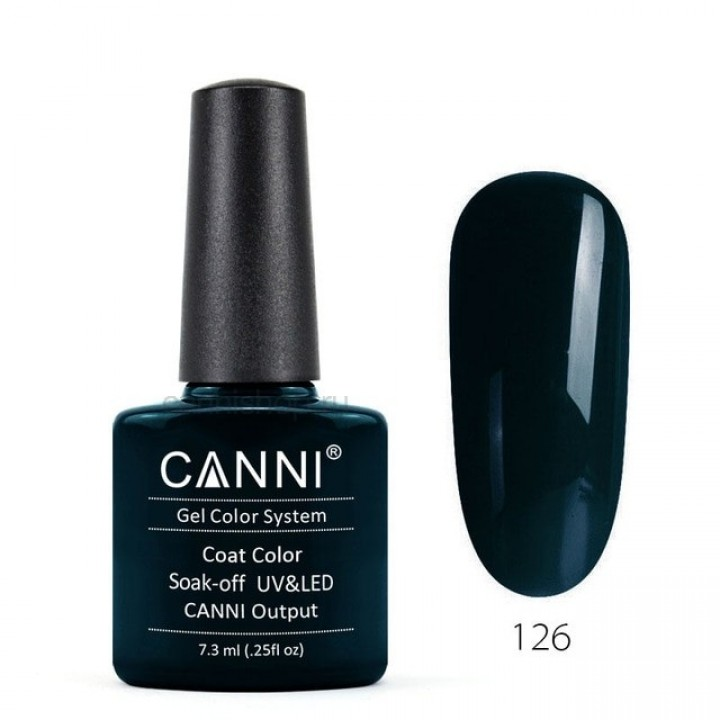 Canni, Гель-лак №126 (7,3 мл.)