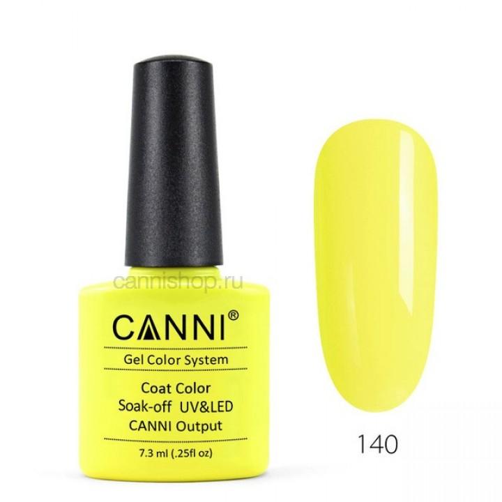 Canni, Гель-лак №140 (7,3 мл.)