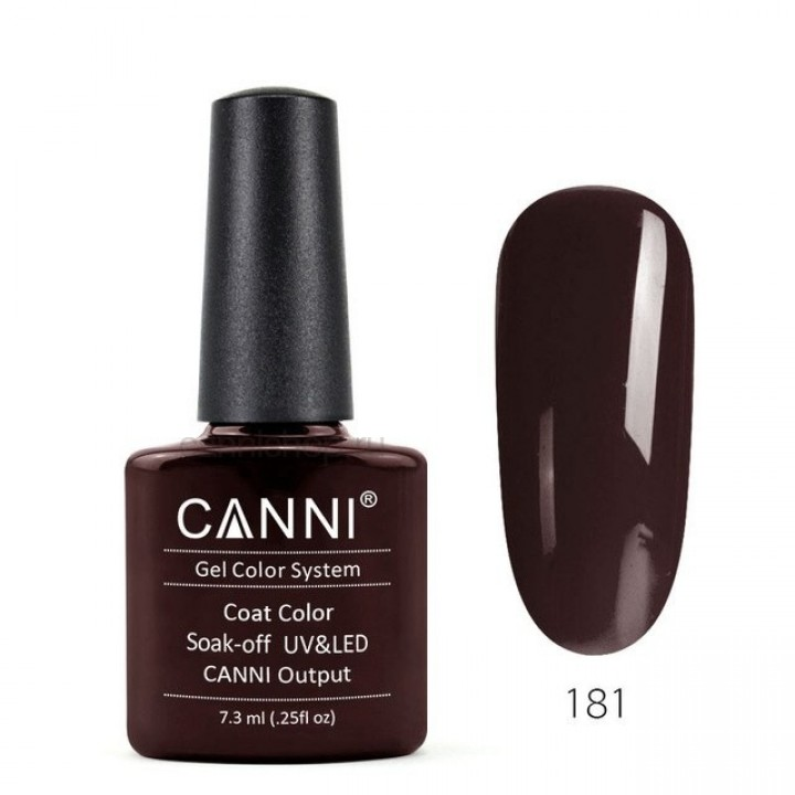 Canni, Гель-лак №181 (7,3 мл.)