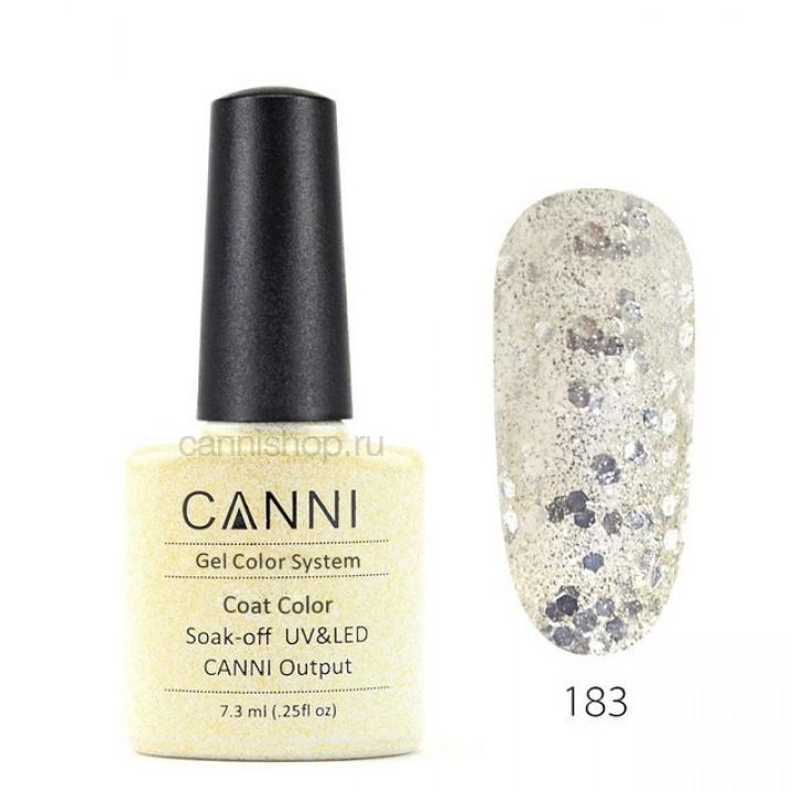 Canni, Гель-лак №183 (7,3 мл.)