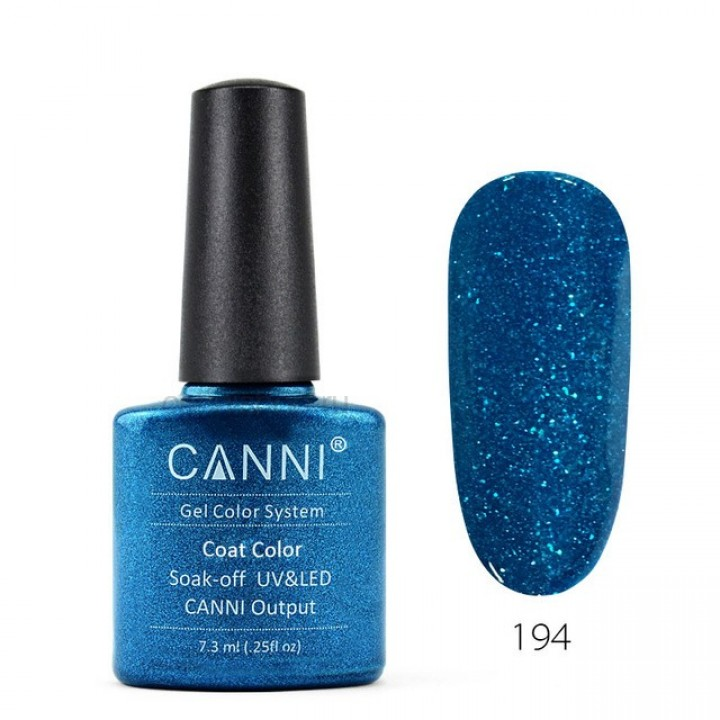 Canni, Гель-лак №194 (7,3 мл.)
