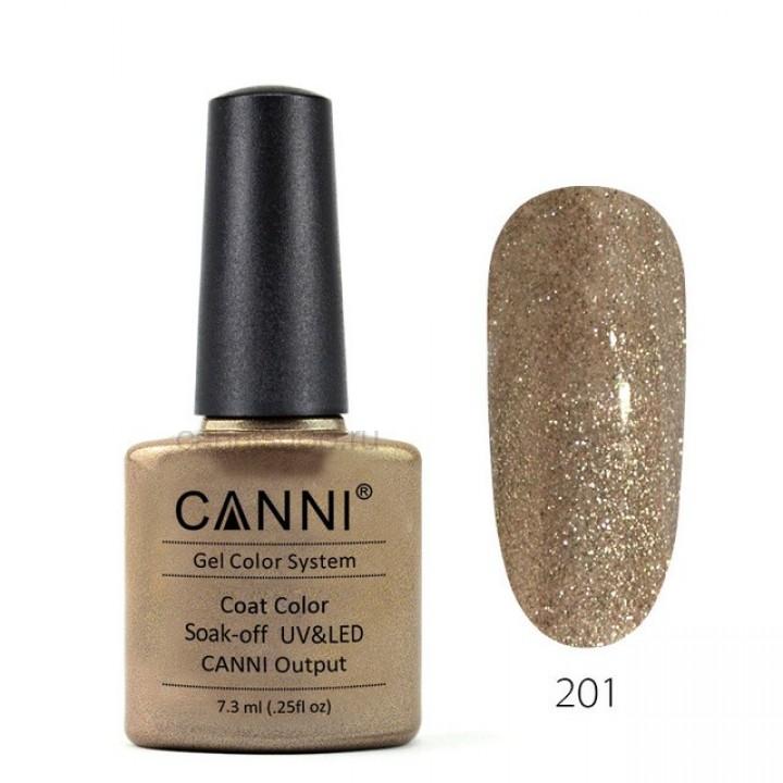 Canni, Гель-лак №201 (7,3 мл.)