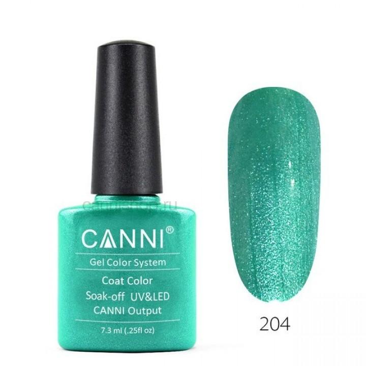 Canni, Гель-лак №204 (7,3 мл.)