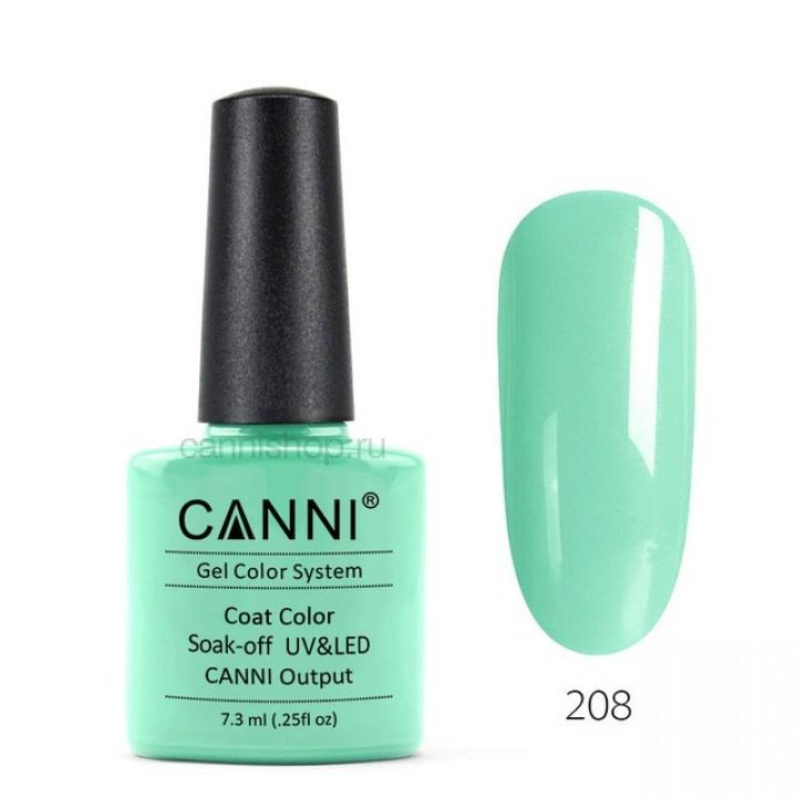 Canni, Гель-лак №208 (7,3 мл.)