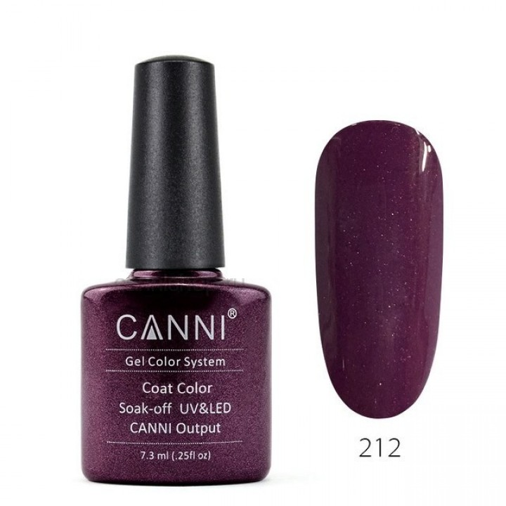 Canni, Гель-лак №212 (7,3 мл.)