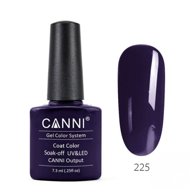 Canni, Гель-лак №225 (7,3 мл.)
