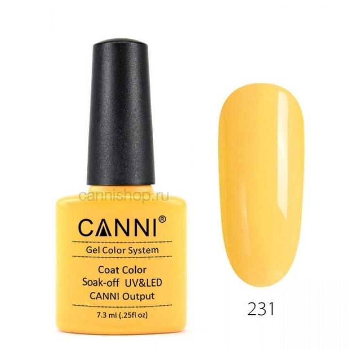 Canni, Гель-лак №231 (7,3 мл.)
