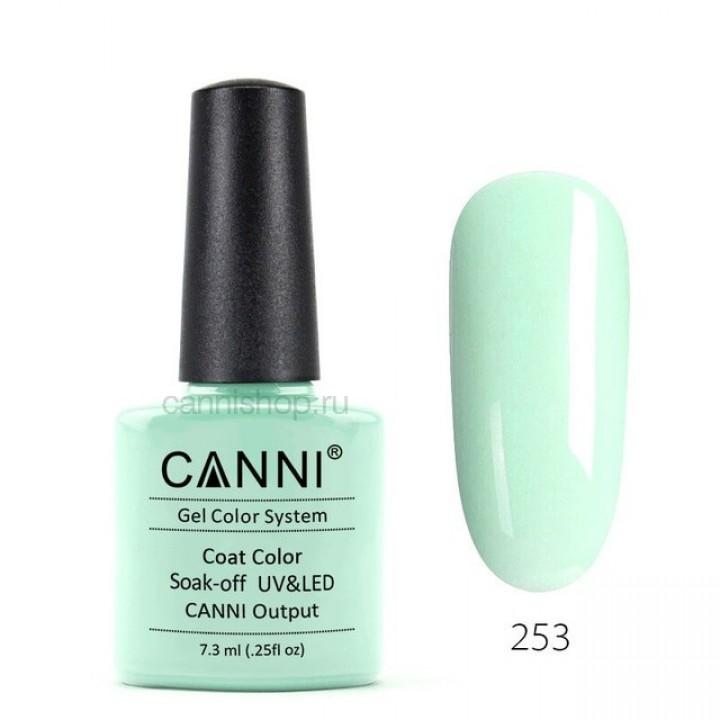 Canni, Гель-лак №253 (7,3 мл.)