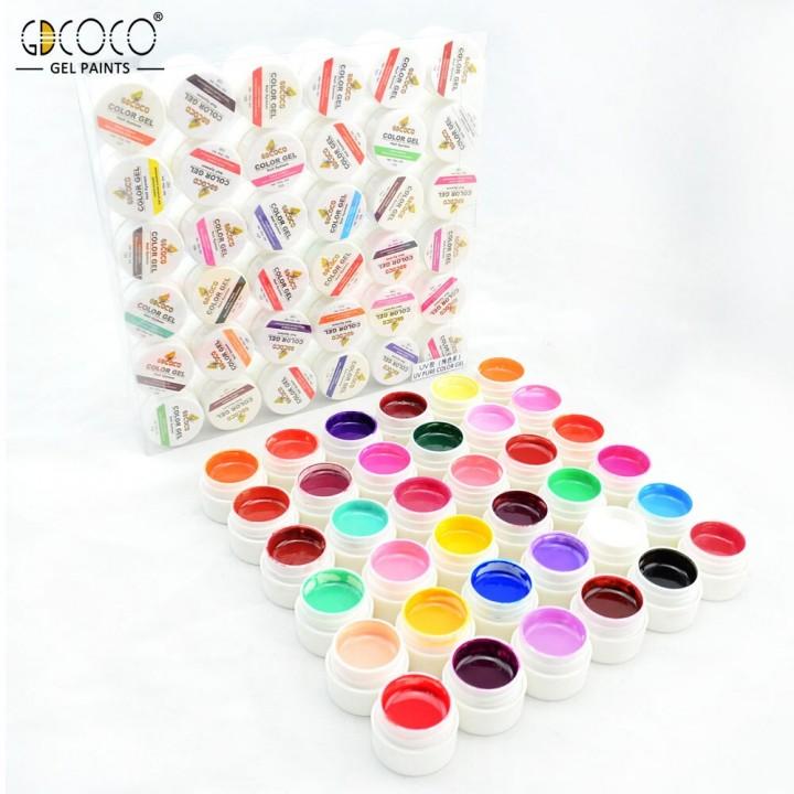 Gdcoco, Гель-краски в наборе 36 шт