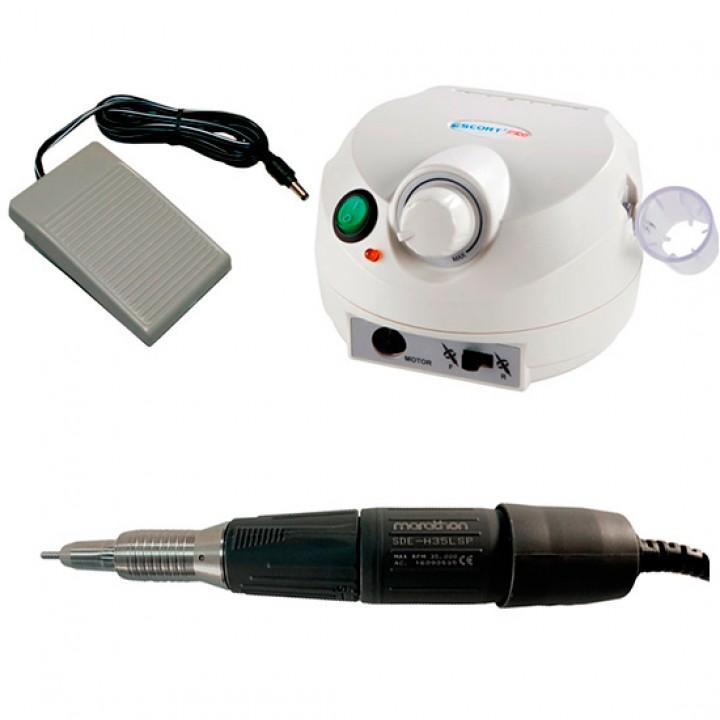 Marathon Escort II Pro, наконечник H35LSP/2.9 Ncm/35000 об/мин, аппарат для маникюра и педикюра