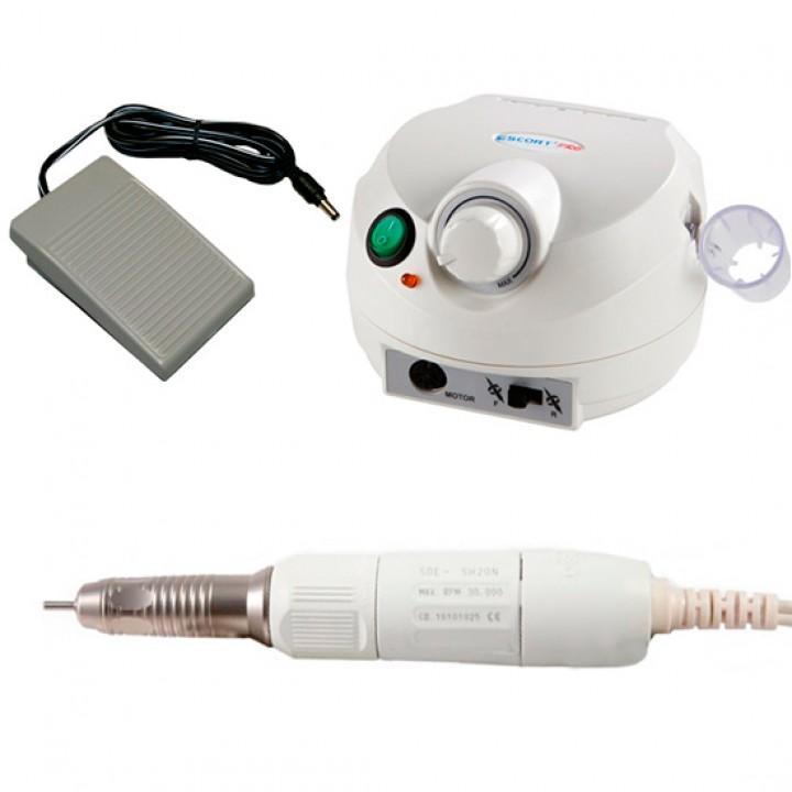 Marathon Escort II Pro, наконечник SH20N/2.7 Ncm/30000 об/мин, аппарат для маникюра и педикюра