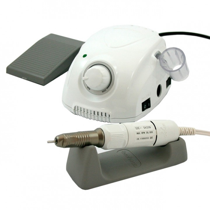 Marathon 3 Champion, наконечник SH20N/2.7 Ncm/30000 об/мин, аппарат для маникюра и педикюра