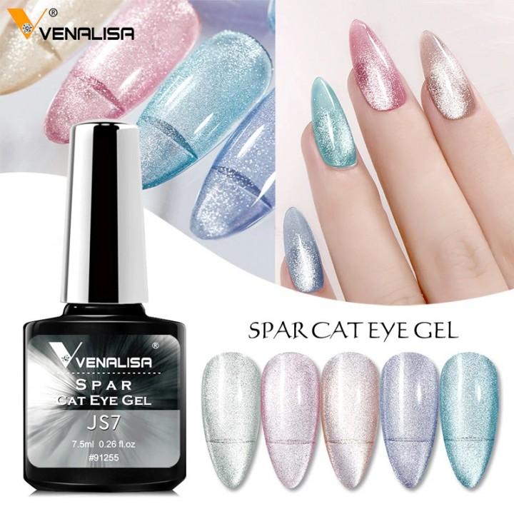 Venalisa, Серебряный кошачий глаз Spar Cat Eye (7,5 мл.) №JS7